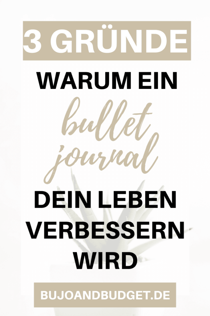 Bullet Journal Anfänger Ideen