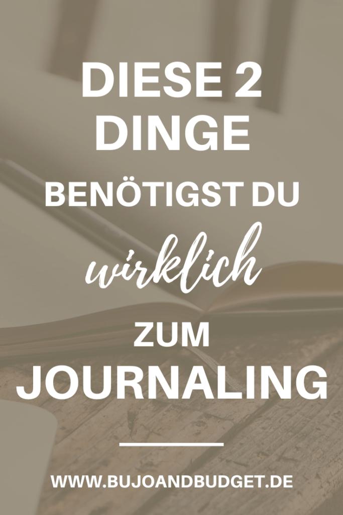 Bullet Journal Zubehör