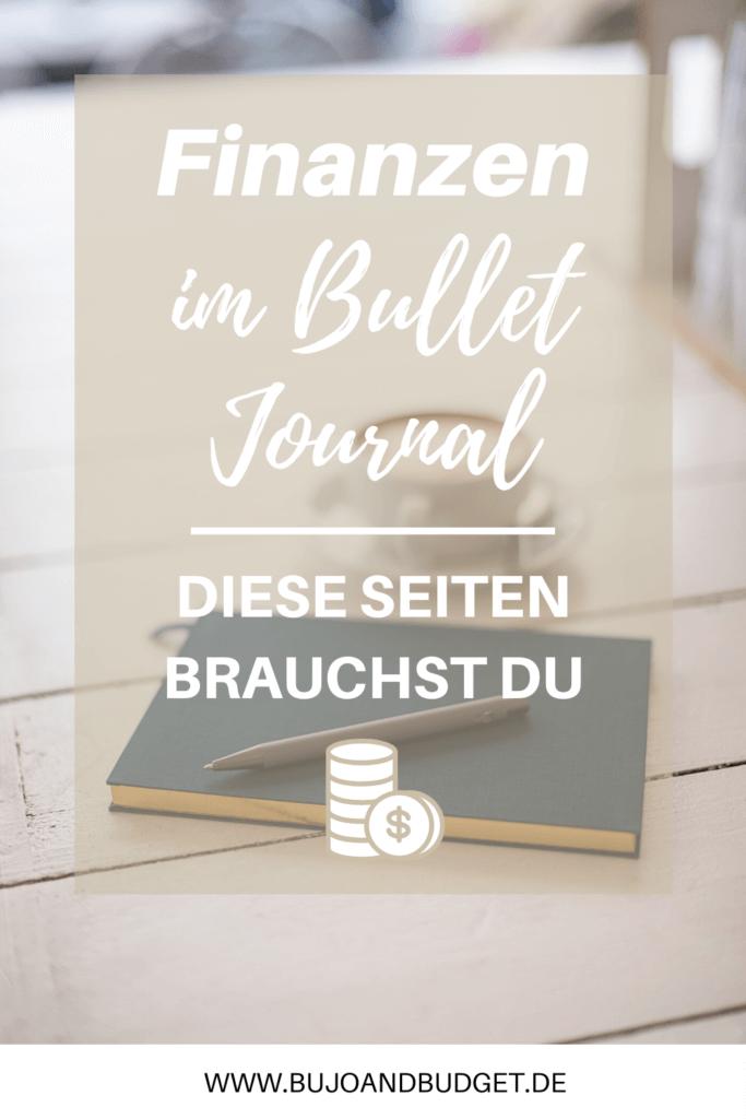 Budget im Bullet Journal