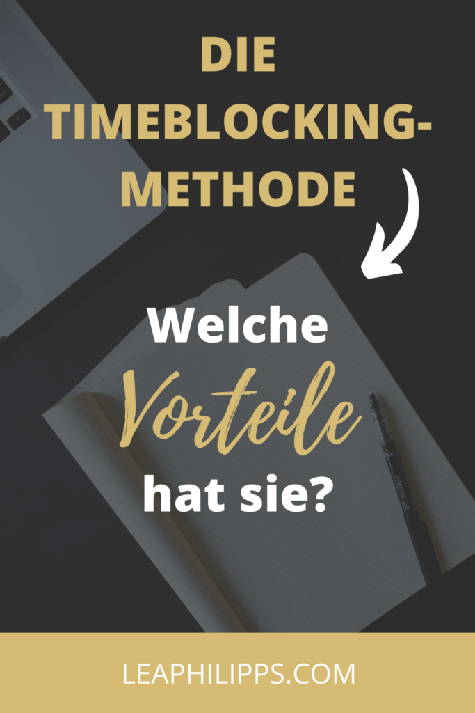 Time-Blocking Methode