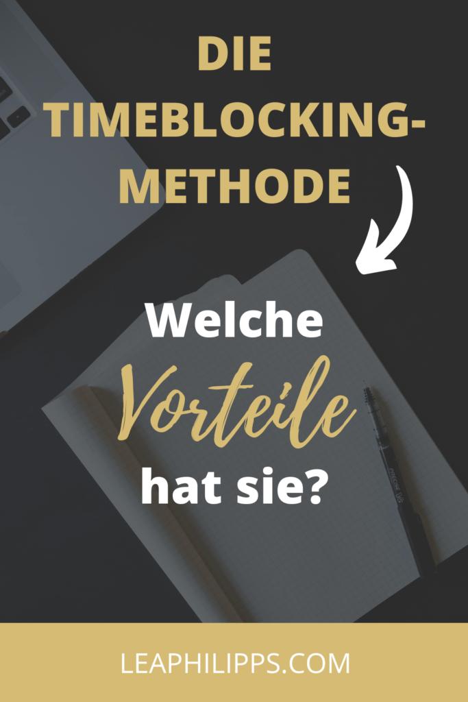 Time-Blocking Methode