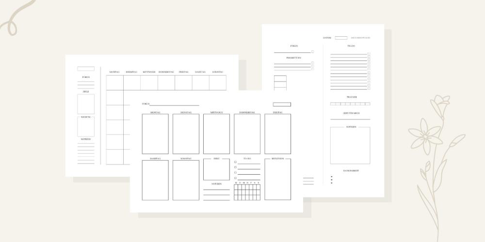 Produktvorschau Planer-Set